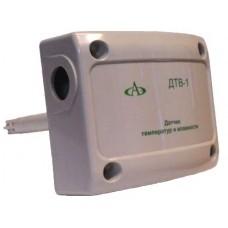 Датчик температуры и влажности совмещенный канальный